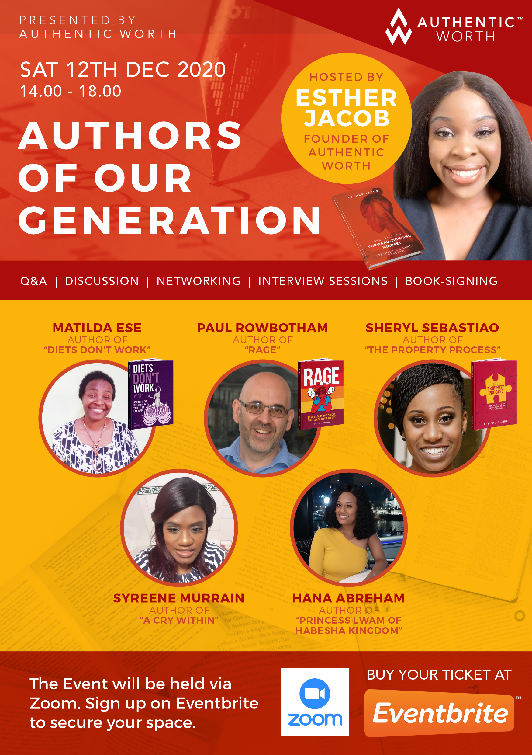 Authors of our generation Dec 2020 flyer