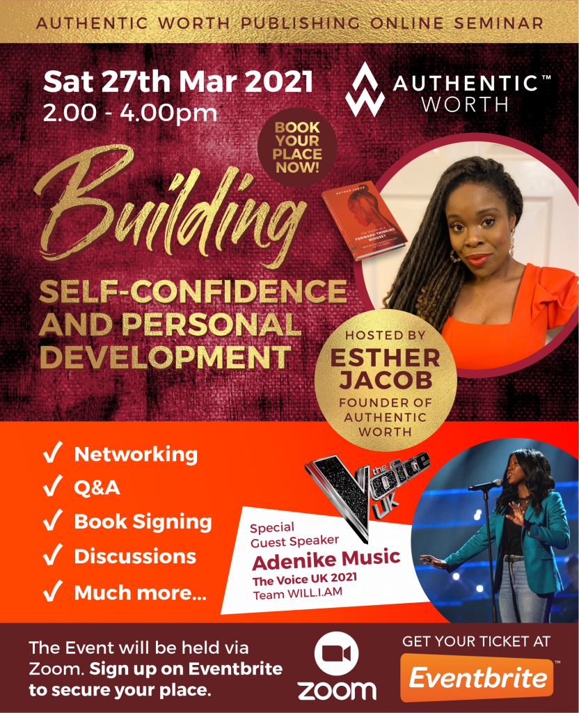 Building Self-Confidence and Personal Development - March 2021
